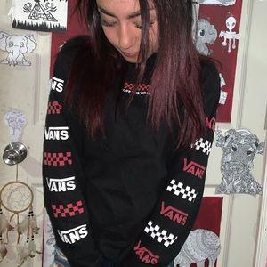 Checkered vans long sleeve